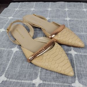 Eugenia Kim Flats with Rose Gold Accent, size 39